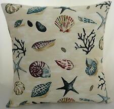 """Cushion Cover in Prestigious Seashells Fabric  17""""/43cm square"""
