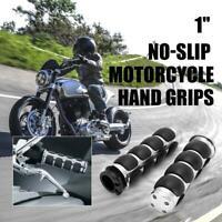 "1"" Handle Bar Hand Grips for Yamaha Virago XV 250 500 535 700 750 920 1100"