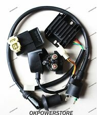 electric kit Coil CDI Relay Rectifier 125cc 150cc chinese GY6 Scooter  Go karts
