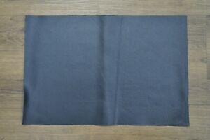 """NEW! Soft, Thin Blue Craft Leather Piece 12"""" by 18"""" 1.5 square feet"""