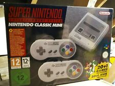 Super Nintendo Entertainment System Classic SNES Mini Brand New In Box
