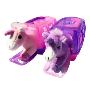 My Little Pet With Carry Case Unicorn Carrier Soft Plush Great Toy Asst Colors