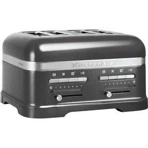 KitchenAid ARTISAN 4 Slice Toaster 5KMT4205 Medallion Silver - Top of the range
