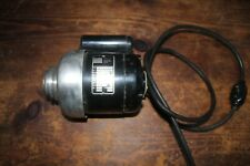 Vintage Bodine Gear Motor NCS 34, 1/6 HP, 3400 RPM, 2.6 A, GO222078, Shrouded