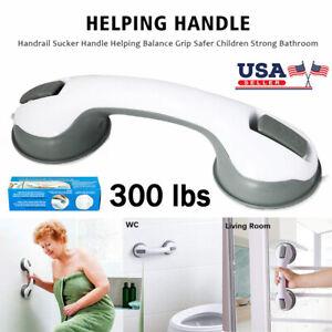 Bathtub Handle Suction Cup Balance Assist Bar Grip Bathroom Shower Grab
