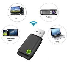 Mini USB 300MBPS WIFI Wireless Adapters PC Laptop Dongle Windows 10 8 7XP Vistas