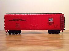 HO Scale Burlington Refrigerator Express Box Car BREX #67170 / 40' Footer