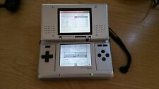 Original Nintendo DS Console Working but one side hinge broken/ scratches