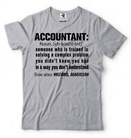 Accountant Noun Funny T-shirt Birthday Gift For Accountant T-shirt