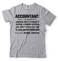 Accountant Noun Funny T-shirt Birthday Gift For Accountant T-shirt