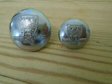 HUMBERSIDE FIRE BRIGADE / SERVICE TUNIC BUTTONS  Large & Small