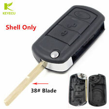 Replacement Flip Key Shell Case for Land Rover Range Rover Sport Lr3 Discovery