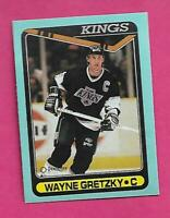 RARE 1990-91 OPC # D OILERS WAYNE GRETZKY  BOX BOTTOM CARD (INV# D0171)