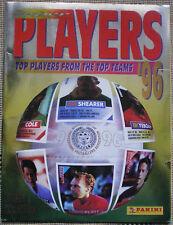 PANINI'S SUPER PLAYERS 96 STICKER ALBUM FIGURINE PANINI
