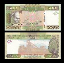Guinea 500 Francs, 2012, P-39, UNC