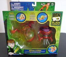 Bandai BEN 10 Alien Force BRAIN STORM BrainStorm Figure Set NEW Free Shipping