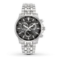 New Citizen Eco-Drive Calibre 8700 Perpetual Calendar Mens Watch BL8140-55E