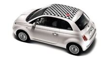 GENUINE FIAT 500 Chequered Roof And 500 Logo Stickers 50901834