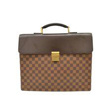 Authentic Louis Vuitton Damier Canvas Satchel Hand Business Bag Case Altona PM