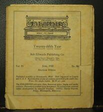 Calgary Eye Opener June 1928  rare antique old humor not politically correct