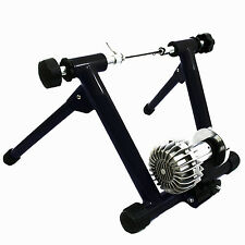 Indoor Fluid  Bike Trainer Stand Bicycle Resistance Exercise Stationary Black