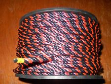 "3/16"" x 250' Three Strand Polyester / Dacron Cord / Rope - Made in USA"