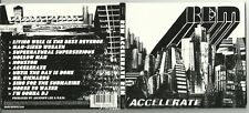 R.E.M. Accelerate CD digipack + livret 2008 Alternative/Indie/Rock/Pop/Punk