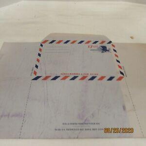 3 Vintage Airmail Envelope with 13 cent JFK Postage