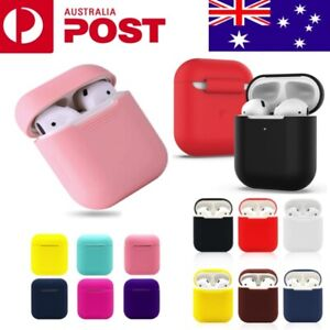 Apple AirPods Silicone Gel Case Shockproof Protective Skin Cover AirPods 1 2