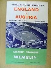 England Teams C-E Football Pre-Season Fixture Programmes