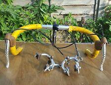 CLASSIC Bike, CORSA, BICI Cinelli Manubrio + WEINMANN DE LUXE 730 freno + leve