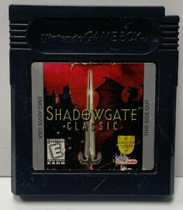 Shadowgate Classic DX Nintendo GameBoy Color GBC Cartridge Only Authentic NTSC