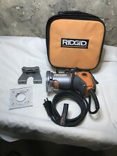 Ridgid 5.5 Amp Corded Fixed Base Compact Router w/Case! Model - R2401