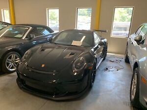 Porsche GT3 RS or GT2 RS Carbon Fiber Hood OEM - PAINTED BLACK