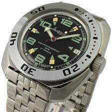 Vostok Amphibian scuba diving Russian watch Mechanical Automatic #710334