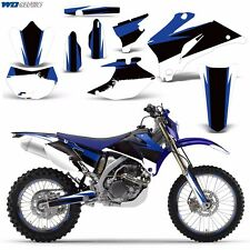 Yamaha Graphic Kit WR 250/450f WR450F WR250F 250F Bike Decal 2007,08,09,10,11 XX