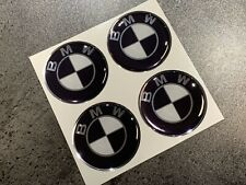 3D-Aufkleber-Set 4-teilig schwarz d=57mm BMW S1000 RR R XR R 1200 900 850 F GS