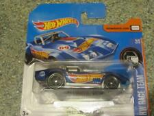 Hot Wheels 2017 #352/365 1969 CORVETTE RACER blue HW Race Team