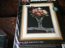 Dimensions Roses & Lace crewel kit