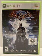 Batman: Arkham Asylum (Microsoft Xbox 360, 2009) NEAR MINT W/MANUAL, W/Sticker