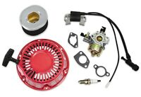 New Recoil Carburetor Fits Honda GX240 GX270 Ignition Coil Plug Air Filter