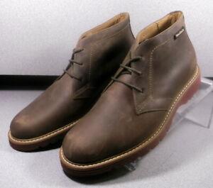 ORAZIO BROWN MMSPBT90 Men's Shoes Size 8 Eur 7.5 Leather Lace Up Boots Mephisto