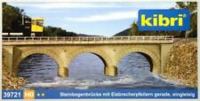 Kibri 39721 ( 9721 ) H0 - Steinbogenbrücke Gerade, eingleisig NEU & OvP