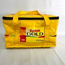 Kodak Yellow VTG Advertising Cooler Bag Gold 100 Film Shoppers Drug Mart 1980s