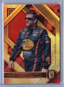 2021 Chronicles Racing TONY STEWART Gold Standard RED Parallel /99 #86/99