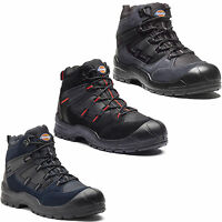 Dickies Everyday Safety Boots Mens Steel Toe Cap Anti Scuff Toe Heel UK6-14