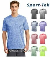 Mens Sport-Tek Heather T-Shirt Dry Workout Performance Moisture Wicking ST390
