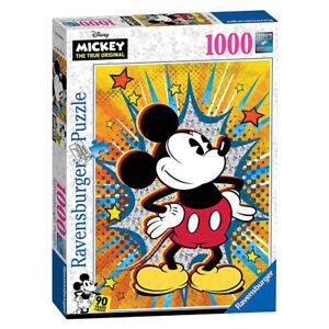NEW! Ravensburger Disney Retro Mickey 1000pc Puzzle