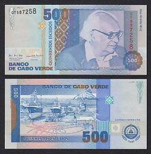 Cabo Verde - Cape Verde  500 Escudos  23-4-1992  Pick 64a  SC = UNC