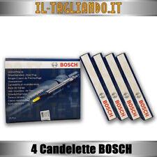 4 Candelette Audi A3 2.0 tdi Golf 5 2.0 tdi 100kw e 103 Kw con Motore BKD BOSCH